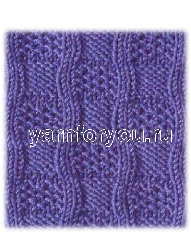 """На нашем женском сайте  """"Дамочка """" Вы в любое время найдете публикацию - узоры для вязания спицами простые..."""
