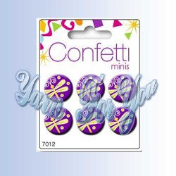 Button Fashion Пуговицы Confetti 7012