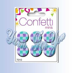 Button Fashion Пуговицы Confetti 7010