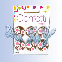 Button Fashion Пуговицы Confetti 7007