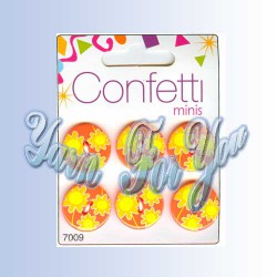 Button Fashion Пуговицы Confetti 7009