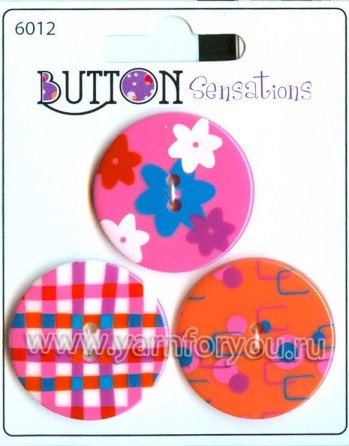Button Fashion Пуговицы Sensations. 6012
