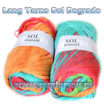 Lang Yarns. Sol Degrade 27