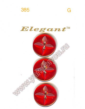 Button Fashion Пуговицы Elegant 385 G