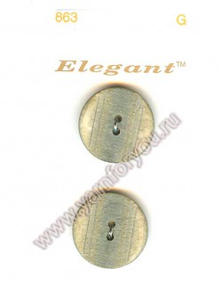 Button Fashion Пуговицы Elegant 863 G