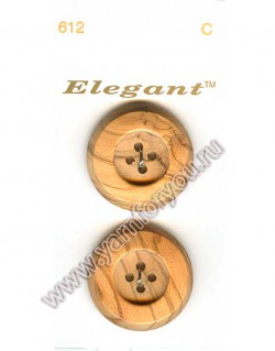 Button Fashion Пуговицы Elegant 612 C