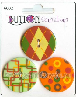 Button Fashion Пуговицы Sensations. 6002