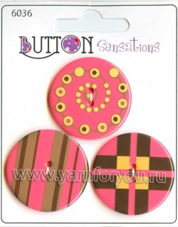 Button Fashion Пуговицы Sensations. 6036