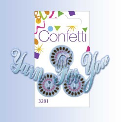Button Fashion Пуговицы Confetti 3281